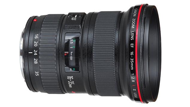 Canon EF 16-35mm f/2.8L II USM Wide Angle Zoom Lens (Full Frame)
