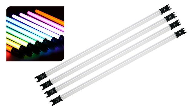 NanLite PavoTube 30C RGBW LED Tube Light with Internal Battery (117cm) x4
