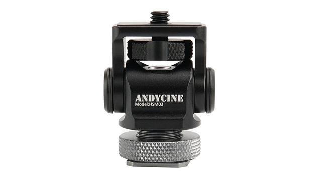 ANDYCINE Mini Shoe Monitor Mount HSM03