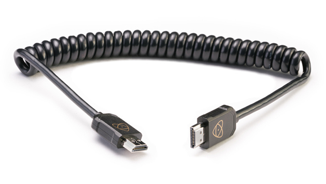 AtomFlex Pro 4K60p Full HDMI to Full HDMI Cable (40cm)
