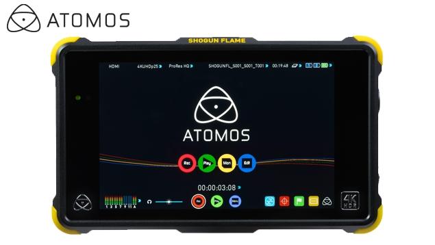 Atomos Shogun Flame 4K HDMI/SDI Recording Monitor - 1500nit/10-bit/HDR