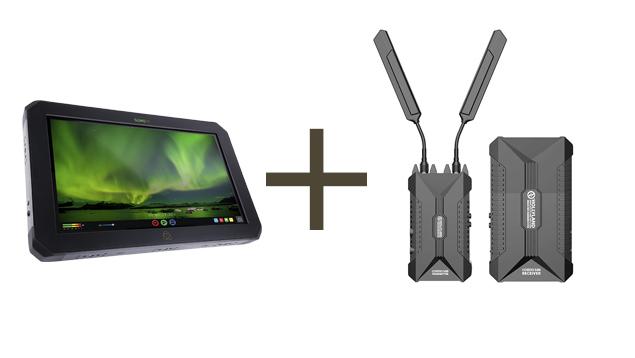 Atomos Sumo19 4Kp60 19-inch Monitor + Hollyland COSMO 500 COMBO