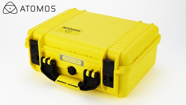 Atomos Shogun Carry Case - Yellow