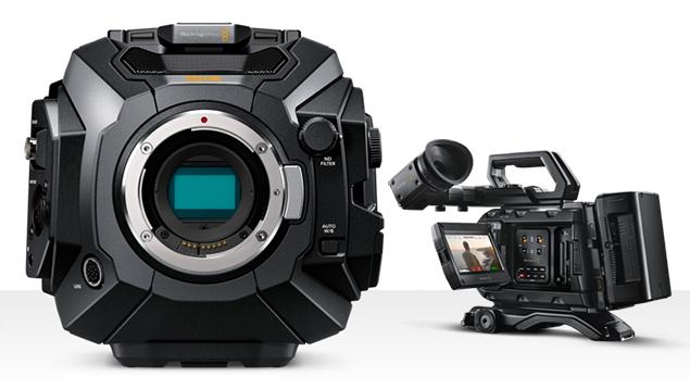 Blackmagic URSA Mini Pro 4.6K G2 (EF Lens Mount) + EVF + Shoulder Kit