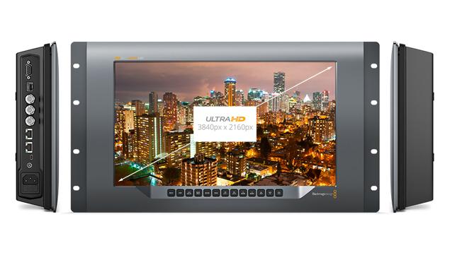 "Blackmagic SmartView 4K 15"" Ultra HD Broadcast Monitor with 12G-SDI"