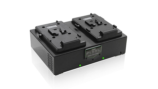CORE Fleet D2S Micro 2 Positional Rapid V-Mount Charger