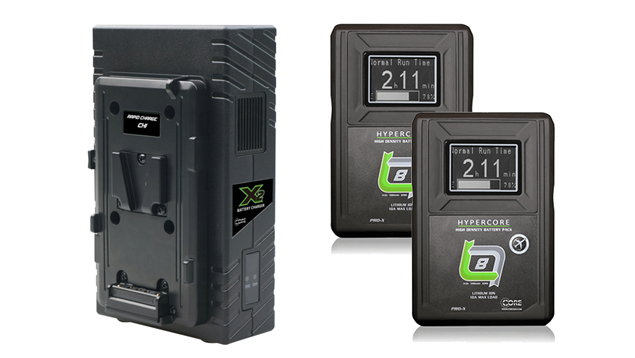 CORE SWX Hypercore Slim 8 Battery Kit + X2S Vertical Charger (85WH)