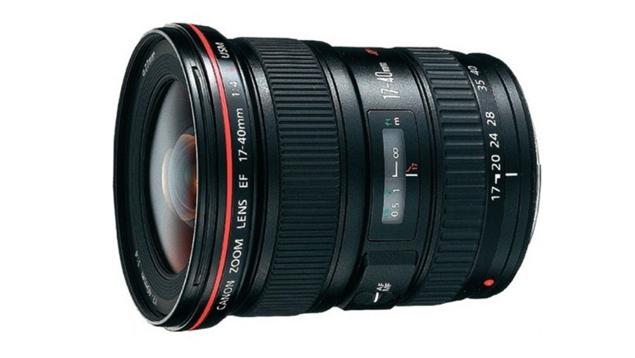 Canon EF 17-40mm f/4L USM Wide Angle Zoom Lens (Full Frame)