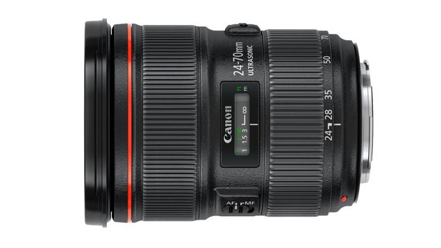 Canon EF 24-70mm f/2.8L II USM Lens (Full Frame)