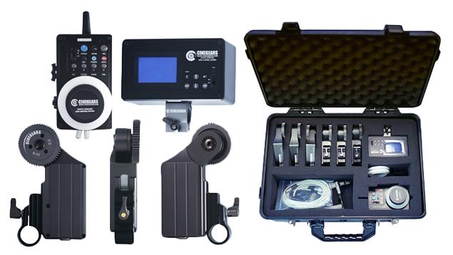 Cinegears Multi Axis Wireless Follow Focus Kit