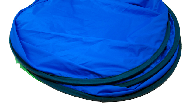 Reversible Collapsible Blue/Green Screen (6'x4')