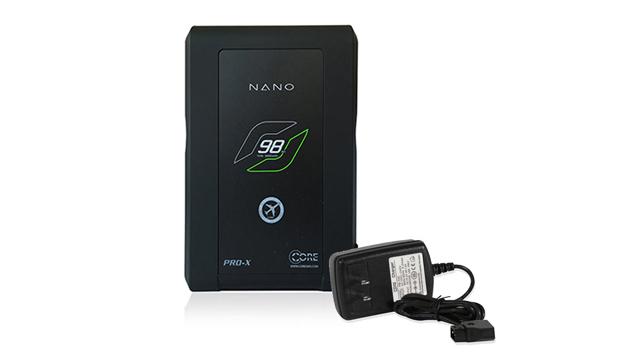 CORE SWX Nano 98wh V-Mount Battery + Powerbase Charger Kit (98WH)