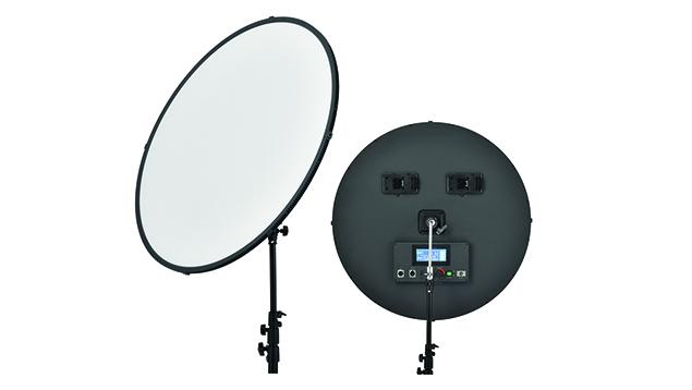 Lishuai Edgelight C-1500RSV LED Panel (80cm Round) Bi-Colour