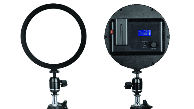 Lishuai Edgelight C-200RS LED Panel (17cm Round) Bi-Colour