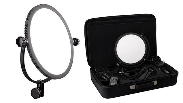 Lishuai Edgelight C-300R LED Panel (25cm Round) Daylight 5600K