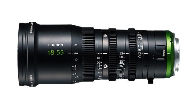 FUJINON MK18-55mm T2.9 Cine Zoom Lens (E-Mount/M43/RF)