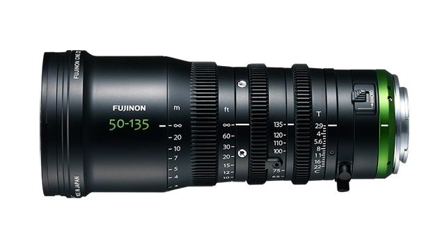 FUJINON MK50-135mm T2.9 Cine Zoom Lens (E-Mount/M43/RF)
