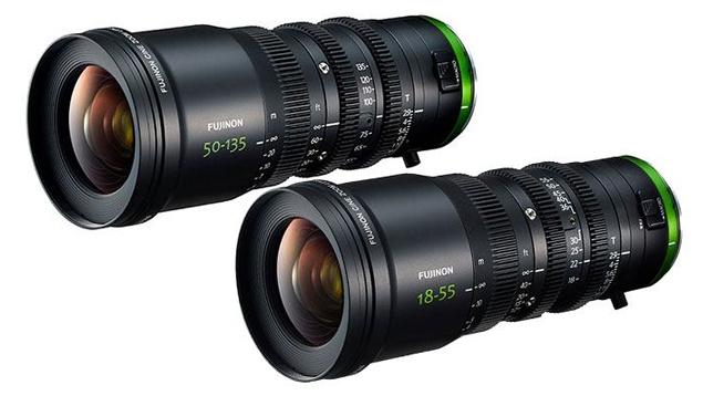 FUJINON MK18-55mm & 50-135mm T2.9 Cine Zoom Lens Set (E-Mount/M43/RF)