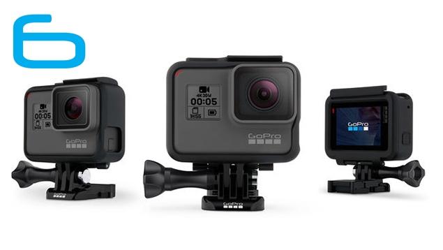 GoPro HERO6 Black 4K Camera