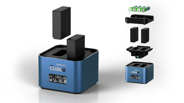 Hahnel PROCUBE2 Battery Charger for PANASONIC/FUJIFILM