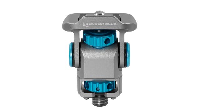 Kondor Blue Swivel Tilt Monitor Mount with Arri Pin (Pan/Tilt)