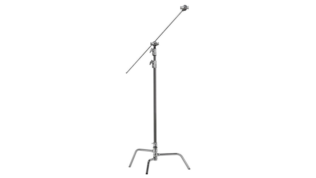 """Kupo 40"""" Silver Master C-Stand Kit with Quick Release Base"""