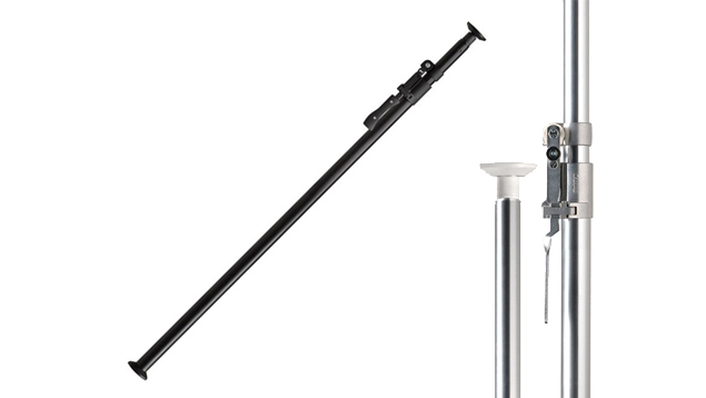 Kupole 150cm to 270cm Medium Portable Background Stand - Black