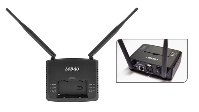 LEDGO & NanLite Wireless DMX & App Control Hub