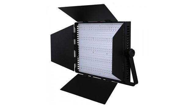 LEDGO 1200 LED Panel, V-Lock Battery Plate & Barndoors (Bi-Colour)