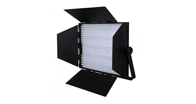 LEDGO 1200 LED Panel, DMX Control, V-Lock Battery Plate & Barndoors (Bi-Colour)