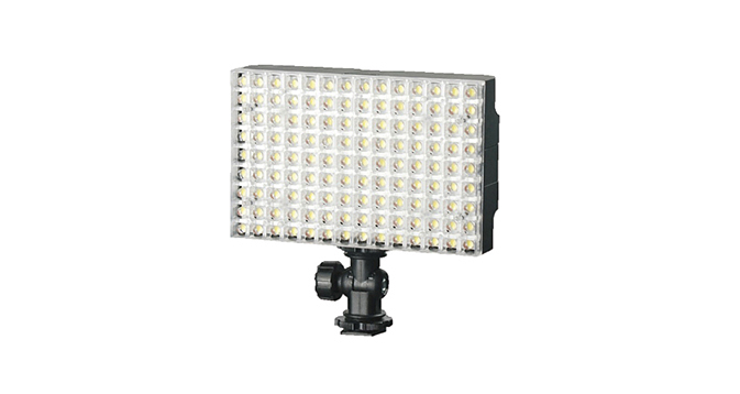 LEDGO 126 LED On Camera LED Panel For Video & Photography Inc. Battery & Charger
