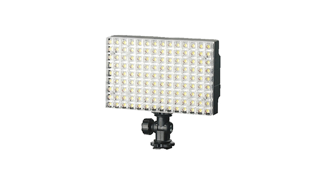 LEDGO 150 LED On Camera LED Panel For Video & Photography Inc. Battery & Charger