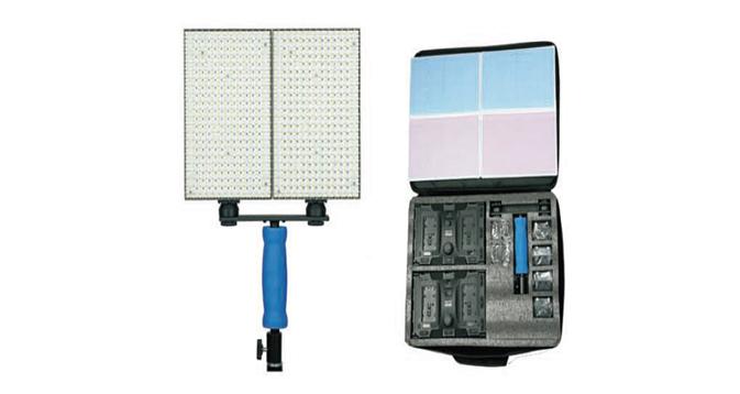 LEDGO 2x 308 LED Light Panel Kit Inc. Bag & Mounting inc Batteries and Chargers