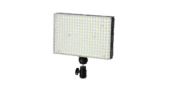 LEDGO 308 LED Colour Adjustable Panel Light For Photography & Video including Batteries & Charger