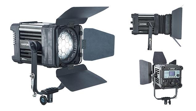 LEDGO LG-D1200M 120W LED Fresnel light with DMX (Daylight)