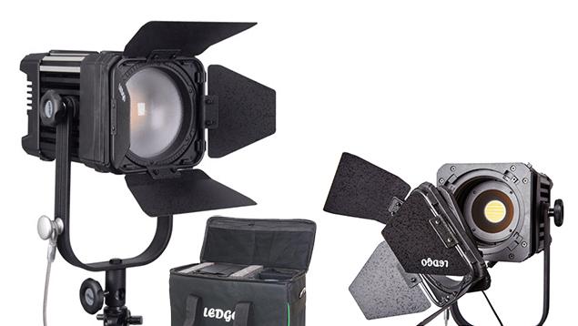 LEDGO LG-D600C 60W LED Fresnel light (Bi-Colour)