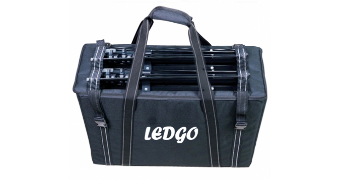 LEDGO Carry Bag for 2 LED Panels and Stands