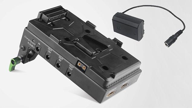 Lanparte V-Lock Battery Pinch with HDMI Splitter