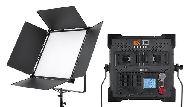 Lishuai 1x1 Ultra Bright VictorSoft V-2000ASVL LED Panel (Bi-Colour)