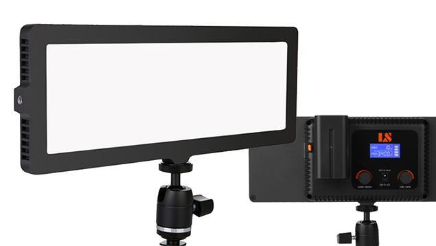Lishuai Edgelight C-218AS Camera Light (28.4x10.4cm) Bi-Colour
