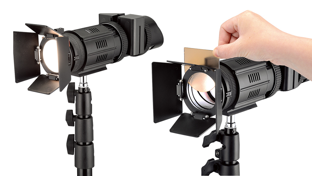 Lishuai 50W Focusable Compact Light (1 x J-500K)