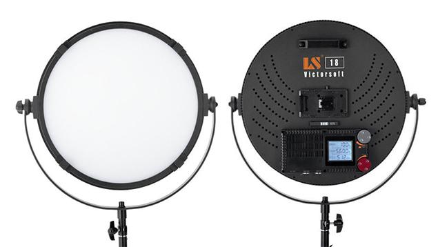 Lishuai Ultra Bright VictorSoft 18 LED Panel VR-2500ASVL (Bi-Colour)
