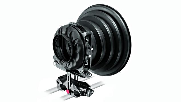 "Manfrotto SYMPLA Flexible Mattebox, 2x (4x4"") Filter Holders & Rubber"