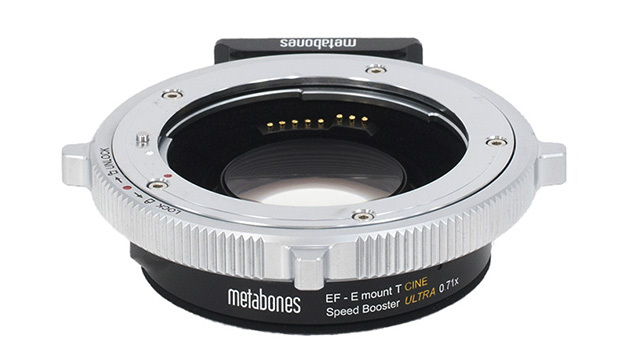Metabones Lens Adapter - Canon EF to E-Mount (NEX) T CINE Speed Booster ULTRA 0.71x