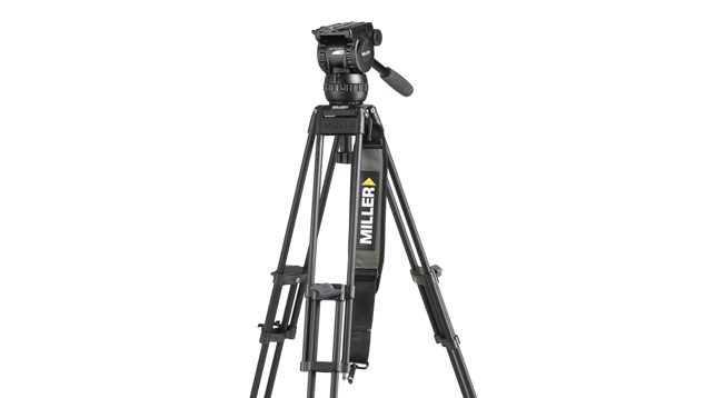 Miller Compass 15 / 2-Stage Alloy Tripod (75mm Bowl)