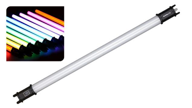 NanLite PavoTube 15C RGBW LED Tube Light with Internal Battery (77cm) x1