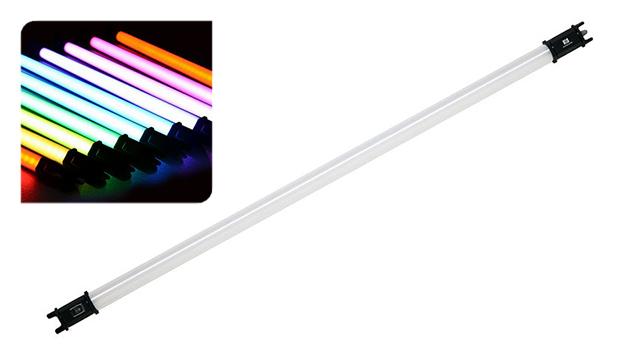NanLite PavoTube 30C RGBW LED Tube with Internal Battery (117cm)