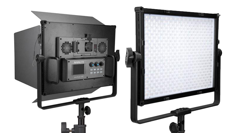 Nanlite MixPanel 150 + Hard + Soft LED Panel (RGB / Bi-Colour)