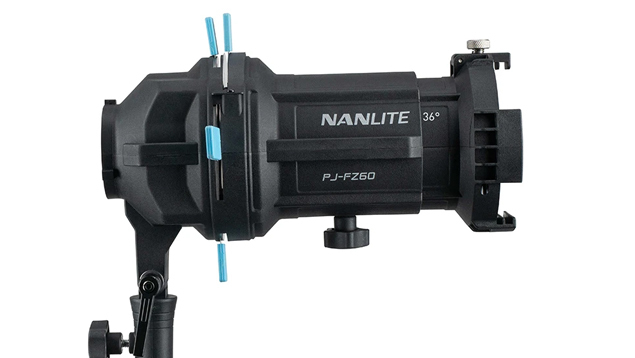 Nanlite Forza 60/60B Projector Mount with 36° Lens