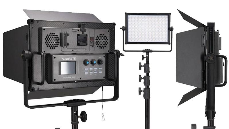 NanLite MixPanel 60 RGB + Bi-Colour + Hard + Soft LED Panel